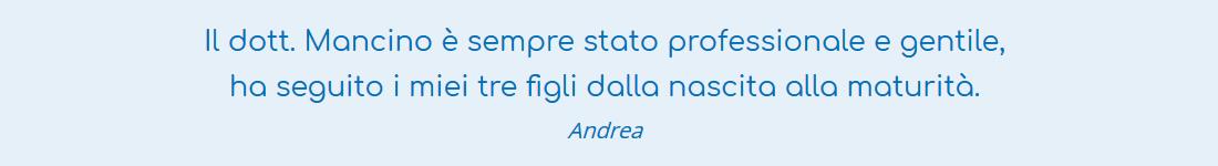 Digital-Ideators-Mauro-Mancino-Un-Pediatra-in-Famiglia-Commenti-Pazienti-Andrea